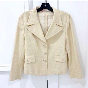 PRADA woven silk jacket